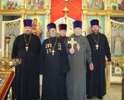 Соборное богослужение в День освобождения Ветковщины от фашистских захватчиков